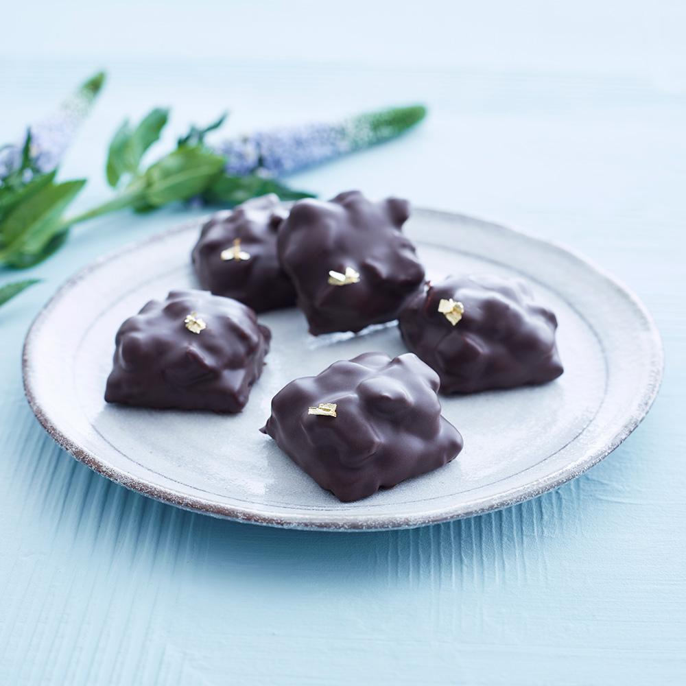Chokladkaka med brynt smör och kardemumma